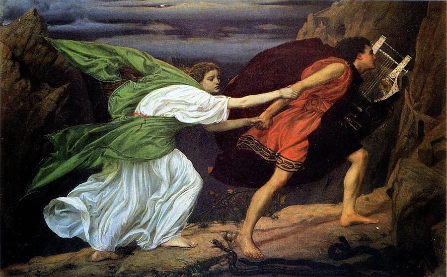 Orpheus and Euridice by Edward Poynter