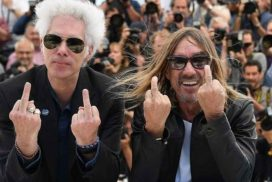 Iggy Pop and Jim Jarmusch